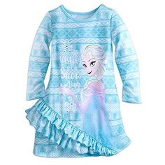 online shopping for Disney Frozen Elsa Nightshirt Girls Blue from top store. See new offer for Disney Frozen Elsa Nightshirt Girls Blue Disney Outfits, Girl Outfits, Disney Clothes, Disney Dresses, Disney Pajamas, Kids Pajamas, Girl Fashion, Womens Fashion, Fashion Ideas