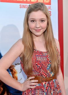 Actress Cozi Zuehlsdorff attends the Los Angeles premiere of 'Blended' at TCL Chinese Theatre on May 21, 2014 in Hollywood, California.