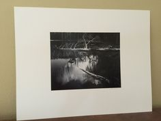A personal favorite from my Etsy shop https://www.etsy.com/listing/233998839/signed-original-ansel-adams-photograph