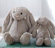 Gray Bunny Plush