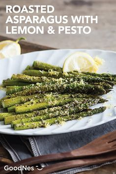 If you're looking for an easy side dish to serve at your next dinner party, look no further than this Roasted Asparagus with Lemon and Pesto. Plus, since it's made with BuitoniⓇ Refrigerated Pesto with Basil and BuitoniⓇ Refrigerated Freshly Shredded Parmesan Cheese, these flavorful veggies are easy to make too.