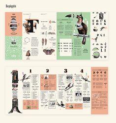 EDÉN Festival de folk psicodélico by Micaela Podržaj, via Behance Poster Layout, Print Layout, Book Layout, Brochure Layout, Brochure Design, Branding Design, Graphisches Design, Layout Design, Editorial Layout