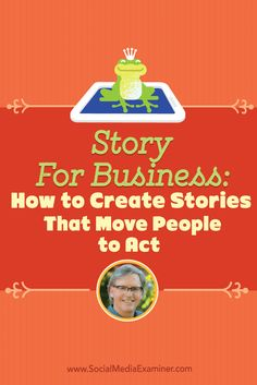Do you use stories to engage your audience? Want to see how powerful stories can be? To discover how to create stories for business that move people to act, Michael Stelzner interviews @parkhowell.