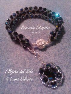 Bracciale Cleopatra con cristalli swarovski
