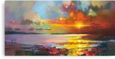 Scottish skyscape art painting, Scotland by Scottish Glasgow based skyscape artist Scott Naismith Abstract Landscape Painting, Landscape Art, Landscape Paintings, Abstract Art, Landscapes, Oil Paintings, Landscape Design, Action Painting, Painting & Drawing