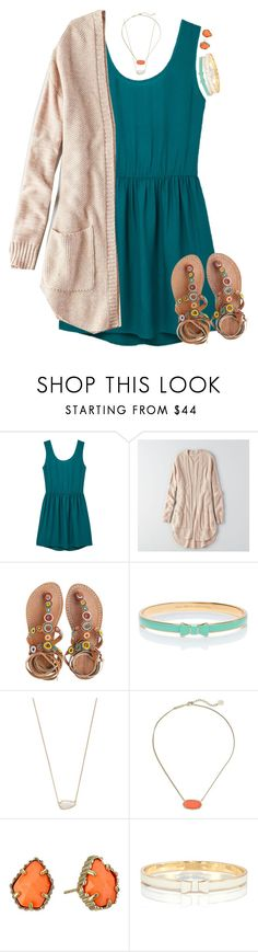 """get busy living or get busy dying"" by meljordrum ❤ liked on Polyvore featuring MANGO, American Eagle Outfitters, Laidback London, Kate Spade and Kendra Scott"