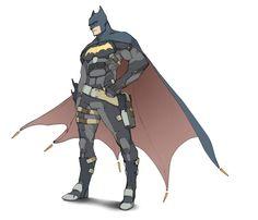 Batman redesign by Toshinho *