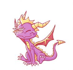 I AM SOOO HAPPY! spyro was the VERY first game I ever owned as a tiny child and it was like magic to me! Spyro The Dragon, Dragon Art, Dragon Head, Muay Thai Martial Arts, Spyro And Cynder, Sad Art, Character Design Animation, First Game, Anime