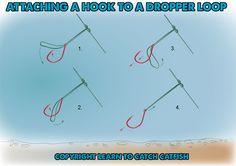 attach hook dropper loop