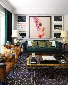 Unusual Living Room Modern Living Room Designs Modern Living Room Design  Masculine Living Room Masculine Interior · Green SofaGreen Velvet ...