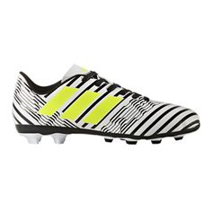 559b8c4c20 adidas Youth Nemeziz 17.4 FxG Soccer Shoes (Electricity Zebra)    SoccerEvolution