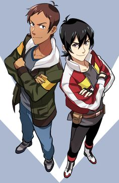Lance and Keith from Voltron Legendary Defender