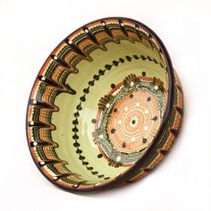 Bulgarian Troyan style Serving Bowls are perfect for serving anything from tapas to pasta. Individually, Serving bowls are beautiful as a home décor.