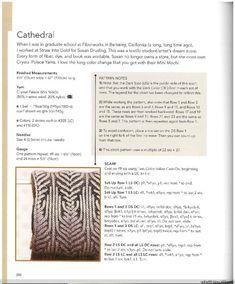Knitting Fresh Brioche(6) - 木棉花 - 雨茫茫,雾茫茫,盼望花开,花已落……
