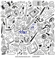 Find Art Doodles Vector stock images in HD and millions of other royalty-free stock photos, illustrations and vectors in the Shutterstock collection. Doodle Drawings, Doodle Art, Doodle Images, Tattoo Painting, Bullet Art, Doodle Icon, Kawaii Doodles, Sketch Notes, Art And Illustration