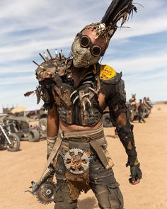 Men with steampunk and dieselpunk inspired outfit posing at Burning Man Steampunk Men, Steampunk Costume, Steampunk Fashion, Post Apocalyptic Costume, Apocalyptic Fashion, Burning Man Fashion, Burning Man Outfits, Apocalypse Character, Steampunk Festival