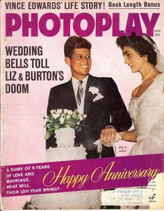 Photoplay Happy 10 year Anniversary Cover to the Couple