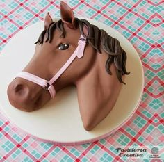 The Cake Parlour designs and creates beautiful celebration cakes for birthdays, christenings and other special occasions. Fondant Cakes, Cupcake Cakes, Horse Birthday Parties, Horse Birthday Cakes, 7th Birthday, Horse Cake, Fondant Horse, Animal Cakes, Novelty Cakes