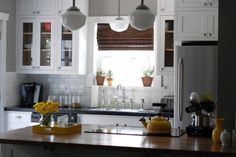 Rockport Gray White Dove kitchen