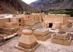 At 3050 m.Tabo Monastery, Himachal Pradesh. India/Tibet.