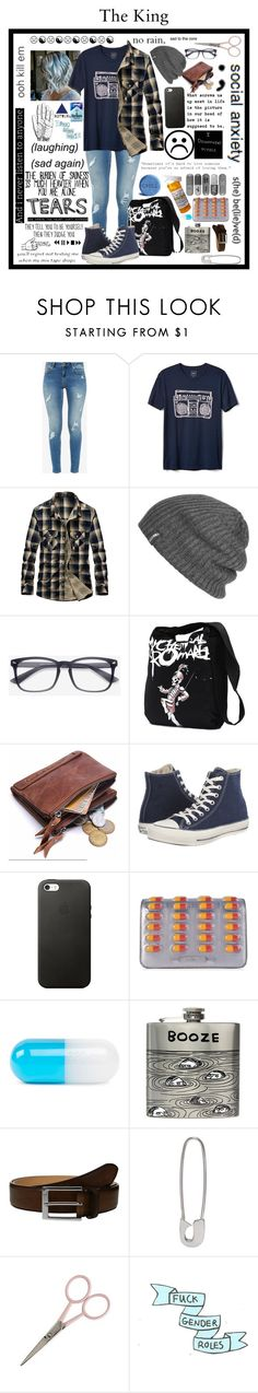 """""""You're Gone And I Gotta Stay High All The Time"""" by rlindley ❤ liked on Polyvore featuring Ted Baker, Gap, Outdoor Research, Converse, Love Quotes Scarves, Betsey Johnson, Moschino, Jonathan Adler, Third Drawer Down and To Boot New York"""
