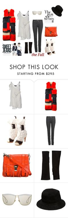 """""""Red lights"""" by juliabachmann ❤ liked on Polyvore featuring Proenza Schouler, MSGM, Vivienne Westwood, Yves Saint Laurent, Barneys New York, Christian Dior and Alexander Wang"""
