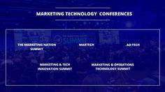 Top 5 Digital Marketing Conferences on Marketing Technology