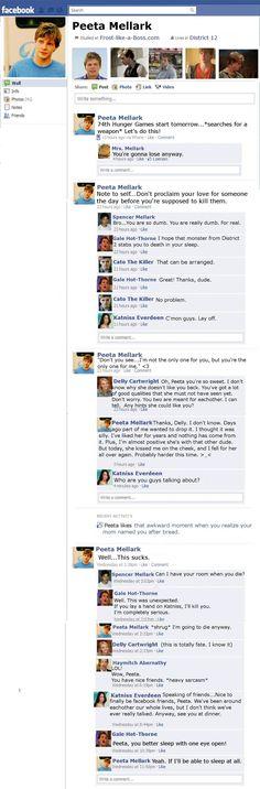 Peeta Mellark Facebook