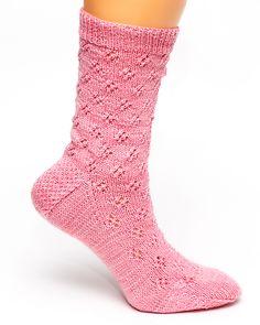 Ravelry: Eyelet Lace Socks pattern by Jean Murdoch