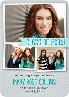 Alluring Announcement - #Graduation Announcements - Magnolia Press in Enchanted Green
