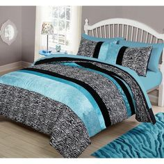 Priscilla Comforter Set by Your Zone Teal - CS9066TLTW-1506
