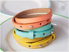 Wickelarmband ● Leder, Armband, individuell, 12 von CandySwing auf DaWanda.com