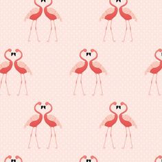 Kate Spade - Flamingo Love Art Print