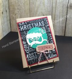 Fab Friday Sketch Challenge, Merry Medley, Greetings from Santa, Detailed Santa Thinlit, Big Shot, Christmas, 2016 Holiday Catalog, Stampin' Up, Stampin' Fun with Diana, Diana eichfeld