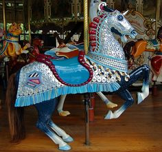 Armored Horse by contrarymary, via Flickr