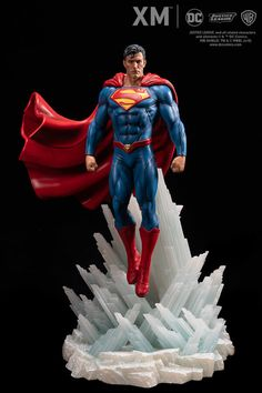 Rebirth Series - Superman-XM Studios is excited to present the next DC Premium Collectibles DC Rebirth series statue, Superman! The Man of Steel i Superman Artwork, Superman 1, Superman Action Figure, Dc Comics, Marvel Statues, Dc Rebirth, Univers Dc, Man Of Steel, Steel Dc