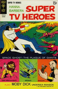 Cover for Hanna-Barbera Super TV Heroes (1968 series) #3