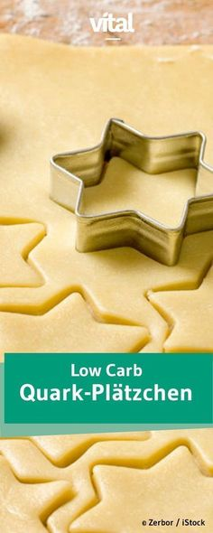 Kohlenhydratarme Magerquark-Plätzchen enthalten wenig Zucker, dafür aber eine Extra-Portion Eiweiß. Perfekt also für jeden Low Carb Ernährungsplan. Überzeugt euch selbst !