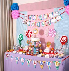 PS832_Lollipop candy Land Birthday Party -