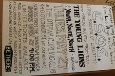 Vintage Punk TSOL TRUE SOUNDS OF LIBERTY YOUTH Concert Flyer POSTER  8.5x14in.