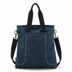 navy Travel messenger bag