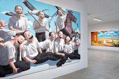 """Image of Yue Minjun """"L'ombre D'un Fou Rire"""" Exhibition @ Fondation Cartier pour l'Art Contemporain Recap"""