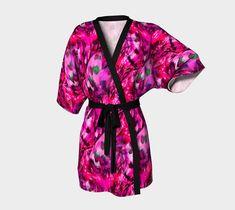 I Can Fly Japanese Kimono Robe Silk or Chiffon by FarrellFineArt