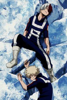 Boku no Hero Academia    Todoroki Shouto, Katsuki Bakugou, #mha