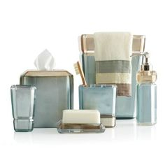 269 best bathroom set accessories images on pinterest bathroom croscill barron light blue bath ensemble bed bath beyond aloadofball Choice Image
