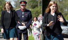 She'll need another holiday! Princess Beatrice is back on royal duty