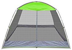 Caravan Canopy Sports Screen House Shelter, 10 x 10-Feet, Lime Green