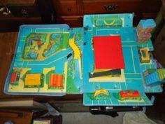 Vintage Matchbox City Playset 1970