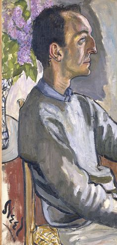 Alice Neel - Portrait of Frank O'Hara, 1960. (poet, writer, art critic and curator at the the Museum of Modern Art) Oil on canvas.
