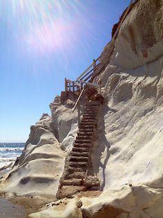 sandy cliff @ Pismo Beach, CA